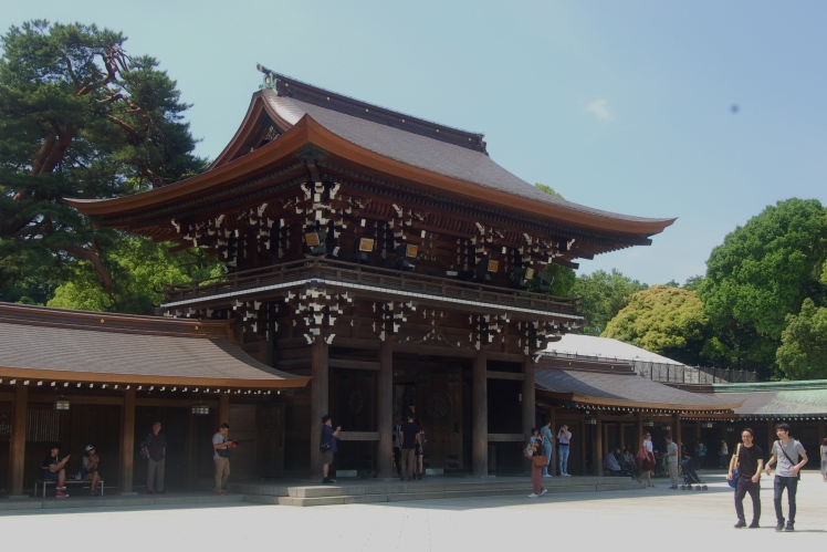 Entrance to the inner shrine