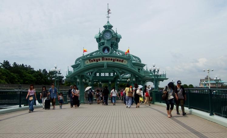 Entrance to Disneyland Tokyo
