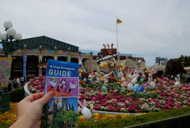 Ticket area at Disneyland Tokyo