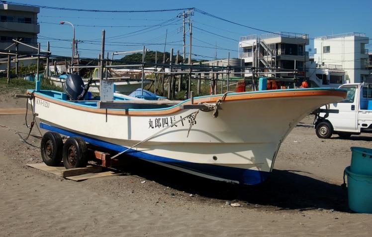 A boat at Kamakura
